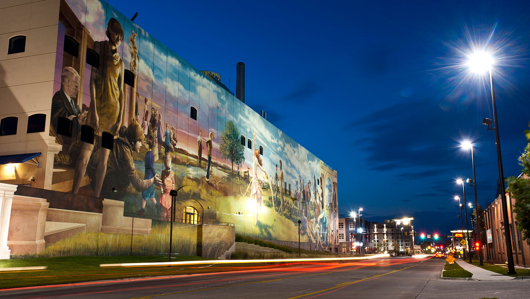 omaha mural titled fertile ground downtown omaha